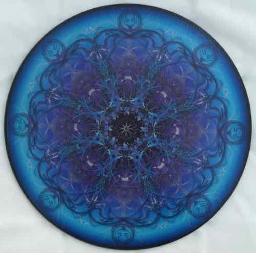 12 Inch Round Glass Trivets