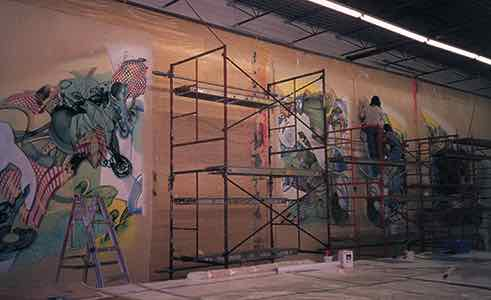 Frank Stella Projects